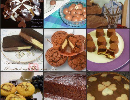 Raccolta di ricette al cioccolato e cacao