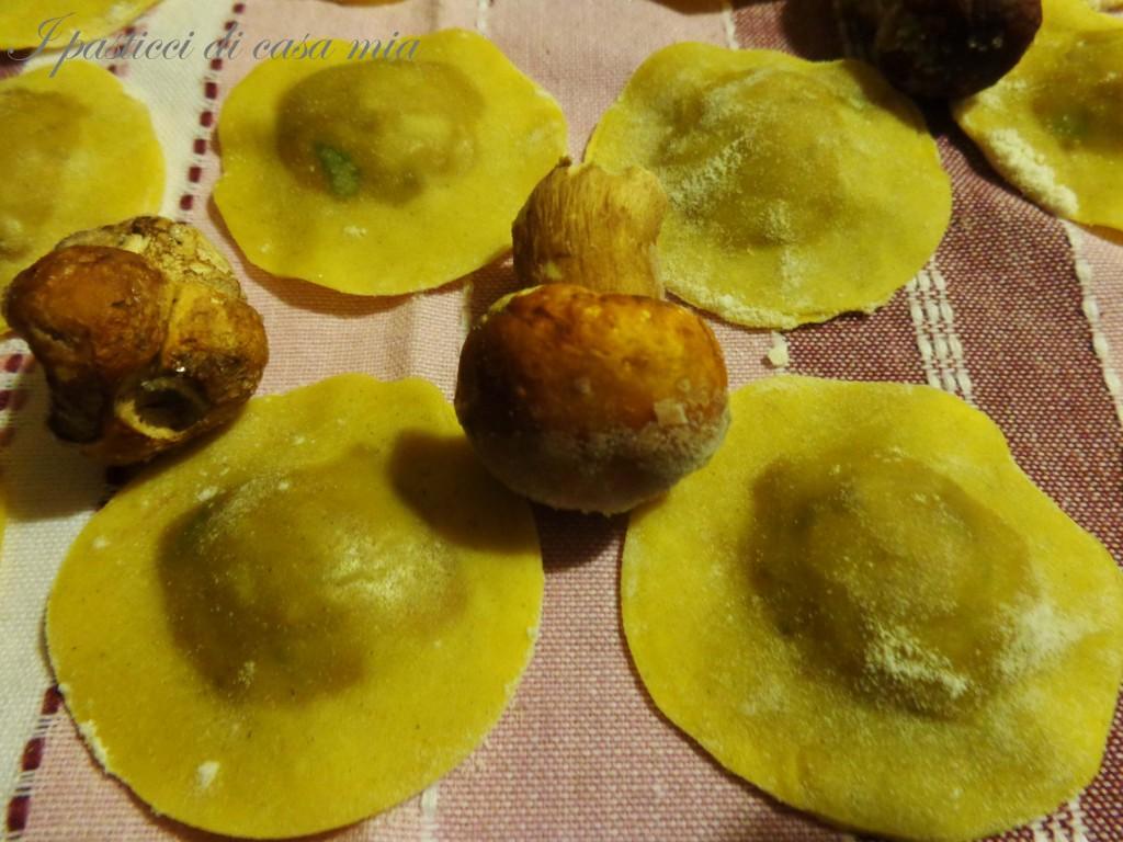 Ravioli ai funghi porcini
