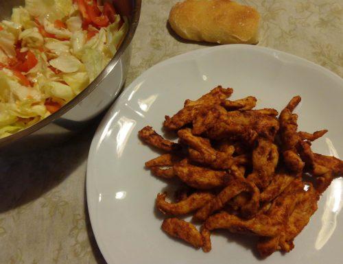 Straccetti di pollo alla paprica