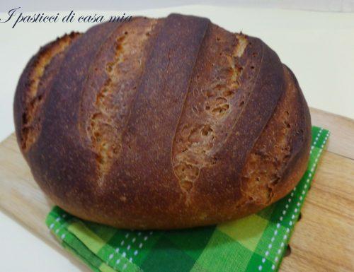 Pane leccese con lievito madre