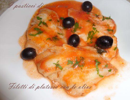 Filetti di platessa con le olive