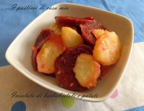 Insalata di barbabietole e patate