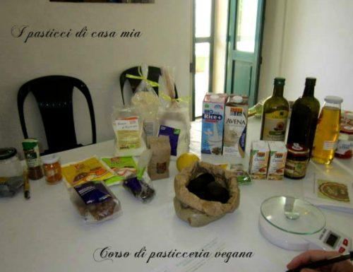 Corso di pasticceria vegana