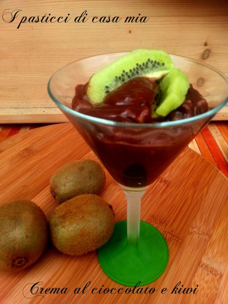 Crema al cioccolato e kiwi