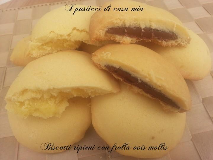 Biscotti ripieni con frolla ovis mollis