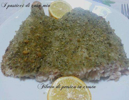 Filetto di persico in crosta
