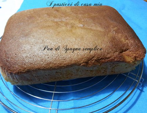 Pan di Spagna semplice