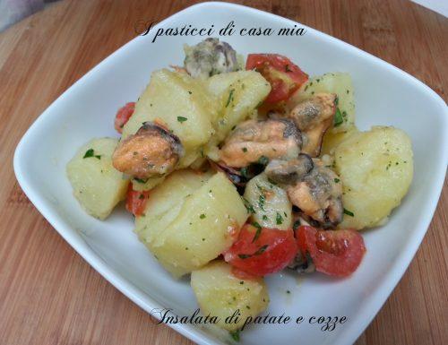 Insalata di patate e cozze