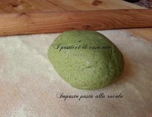 Pasta verde alla rucola