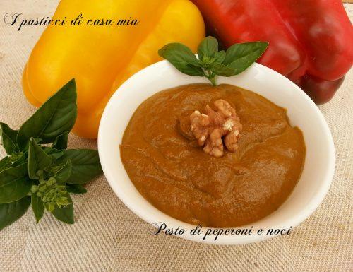 Pesto di peperoni e noci
