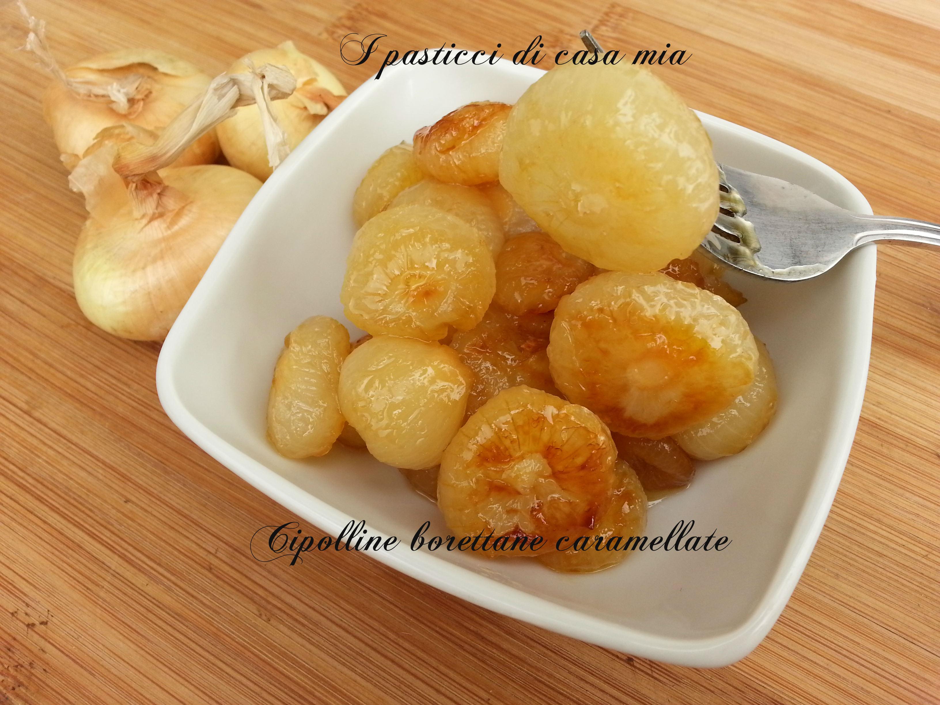 Cipolline borettane caramellate