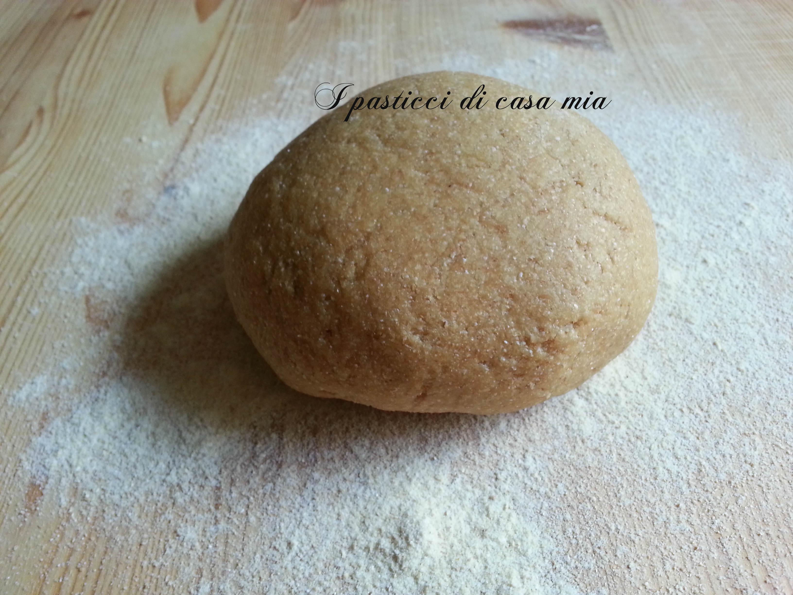Impasto di farina integrale
