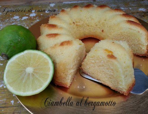 Ciambella al bergamotto