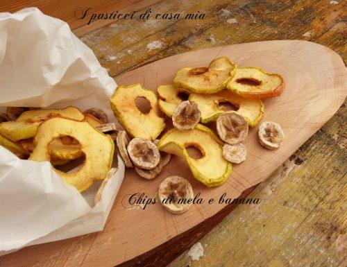 Chips di mela e banana
