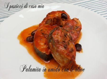 Palamita in umido con le olive