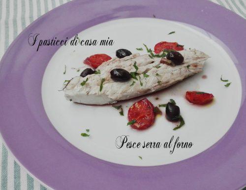 Pesce serra al forno