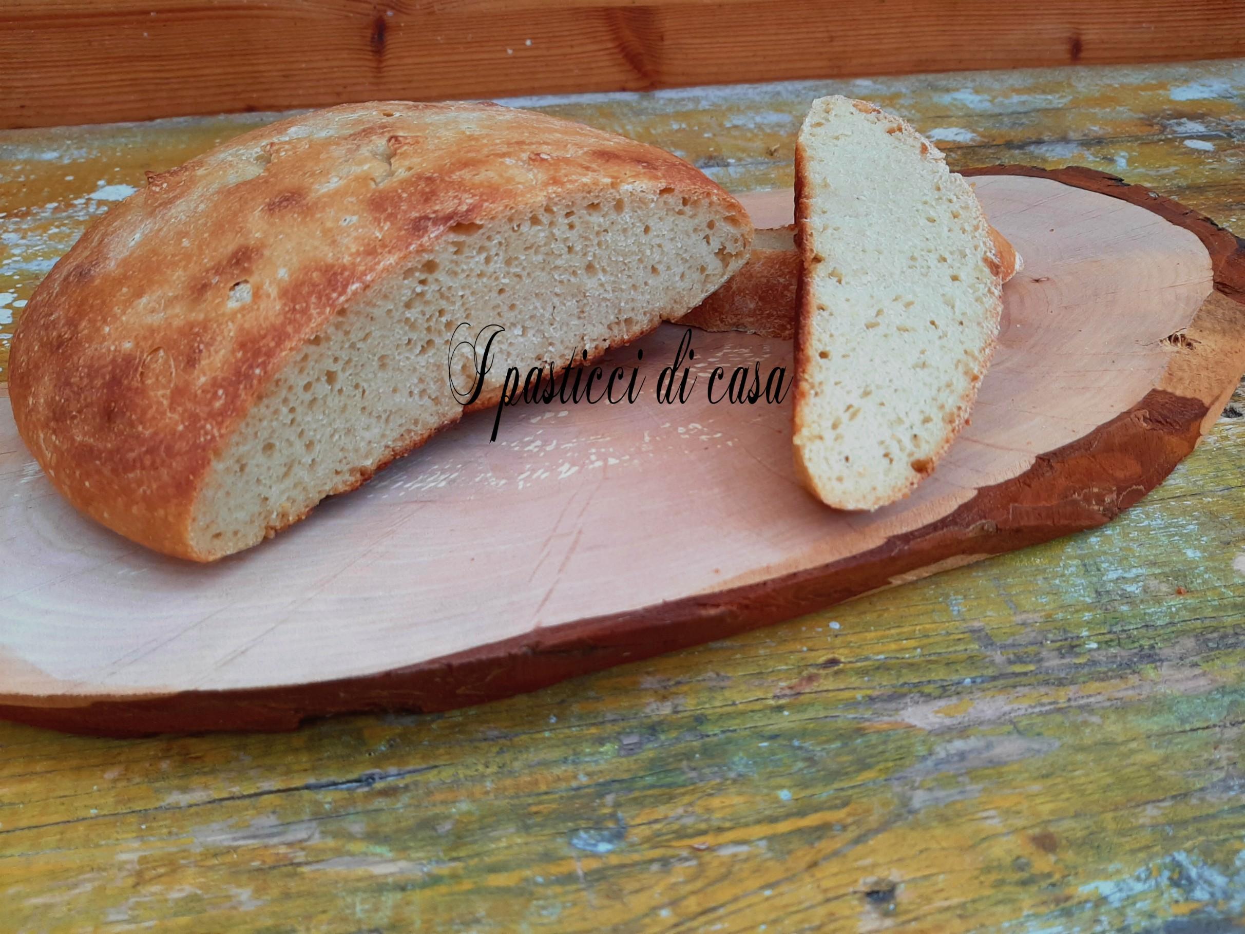 Pane cotto in teglia