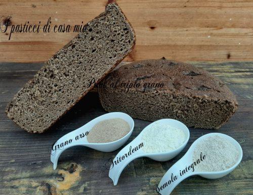 Pane al triplo grano