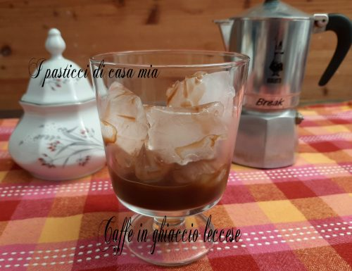 Caffè in ghiaccio leccese