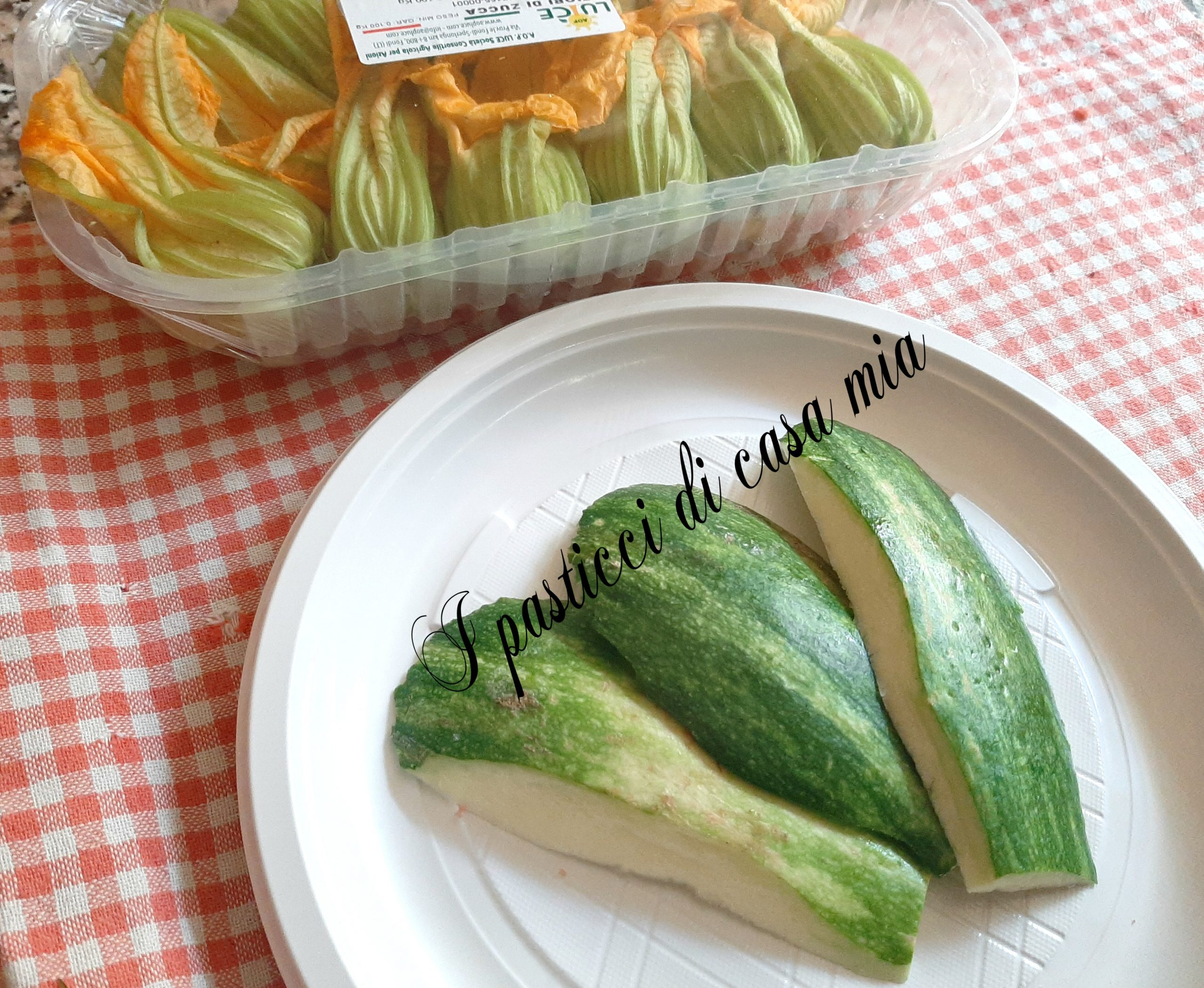 Buccia di zucchina