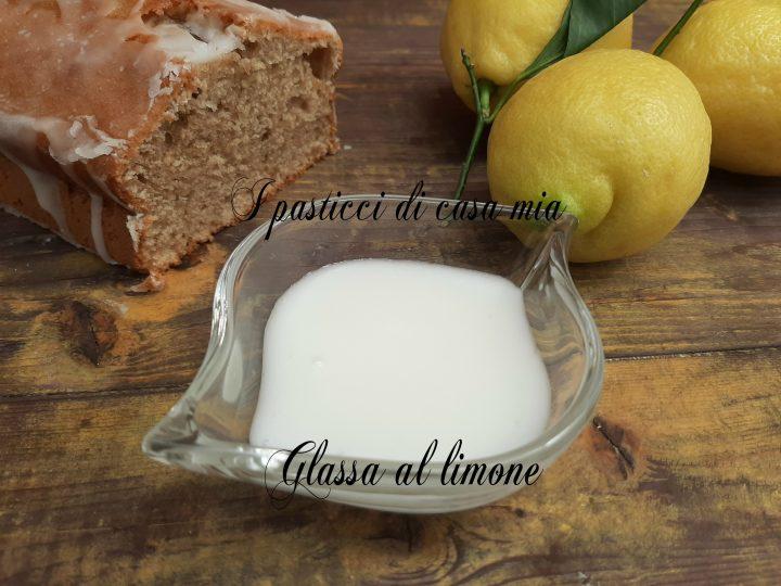 Glassa al limone