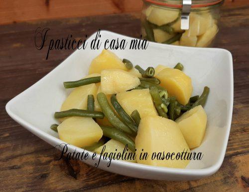 Patate e fagiolini in vasocottura