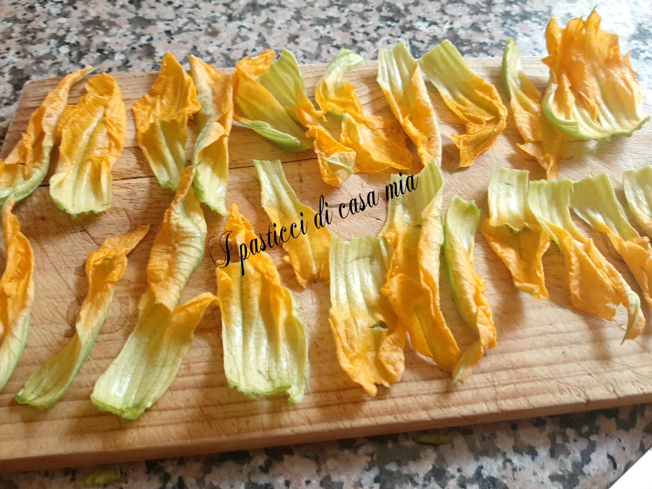 Petali di zucchina