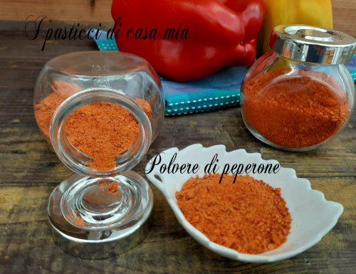 Polvere di peperone dolce