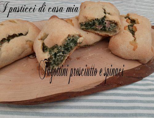 Fagottini al prosciutto e spinaci
