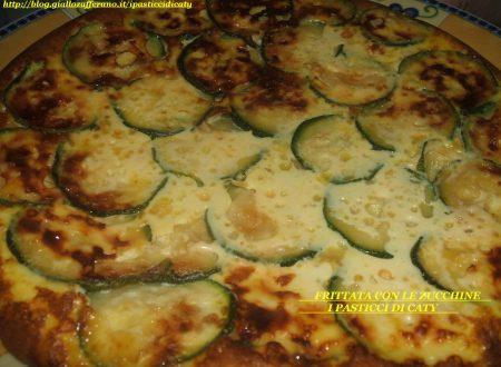 Frittata di zucchine alla menta al forno