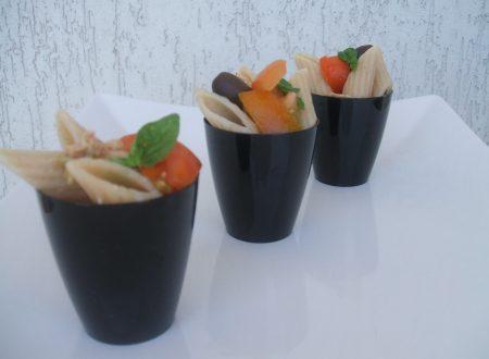 Mezze penne bio benedetto cavalieri in finger foods al tonno