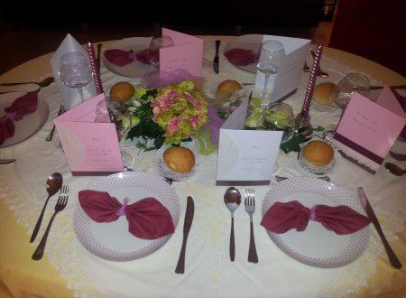 Idee per apparecchiare la tavola e menù