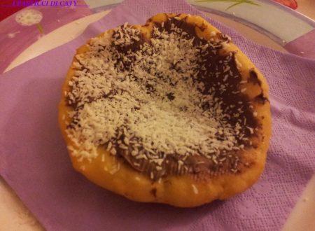 Frittelle nutella e cocco
