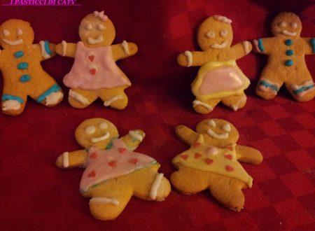 Biscotti natalizi (omini di pan di zenzero)