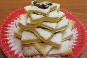 Albero di biscotti alla nutella