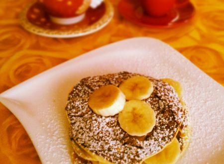 Pancake nutella e banana
