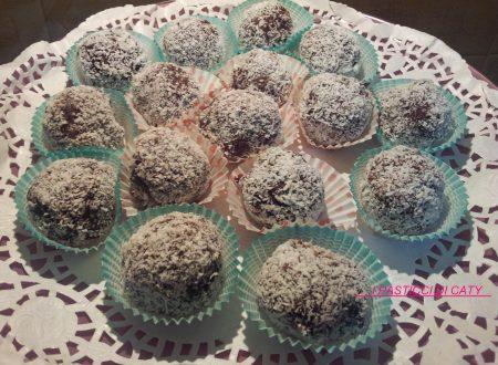 Palline cioccolato e mascarpone