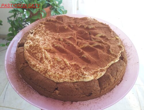 Delirio al cioccolato fondente con crema al mascarpone