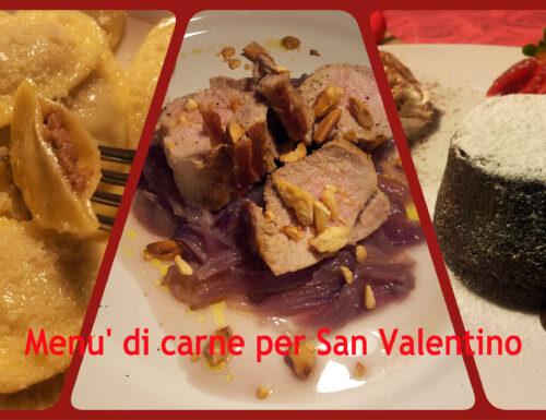 Menù di carne per San Valentino – pdf gratuito