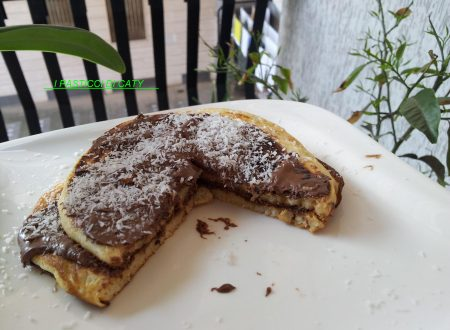 Pancake cocco e nutella