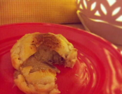 Tortino di cipolla rossa e baccalà