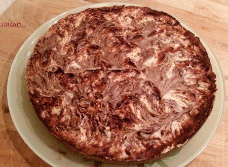 Cheesecake alla nocciola senza cottura