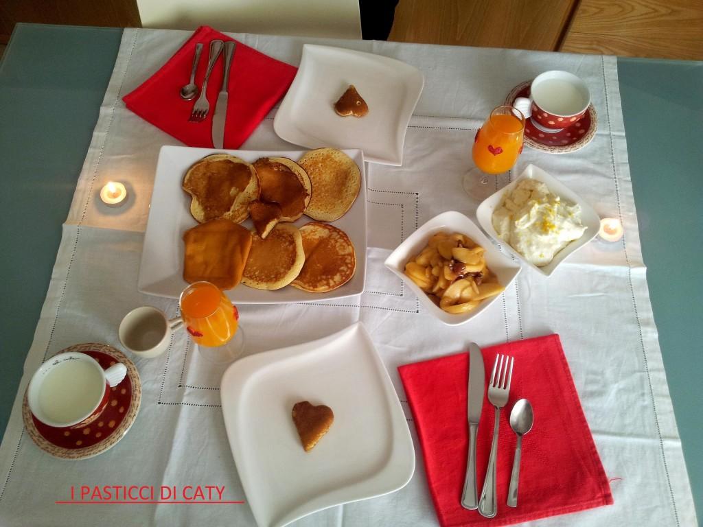 colazione romantica