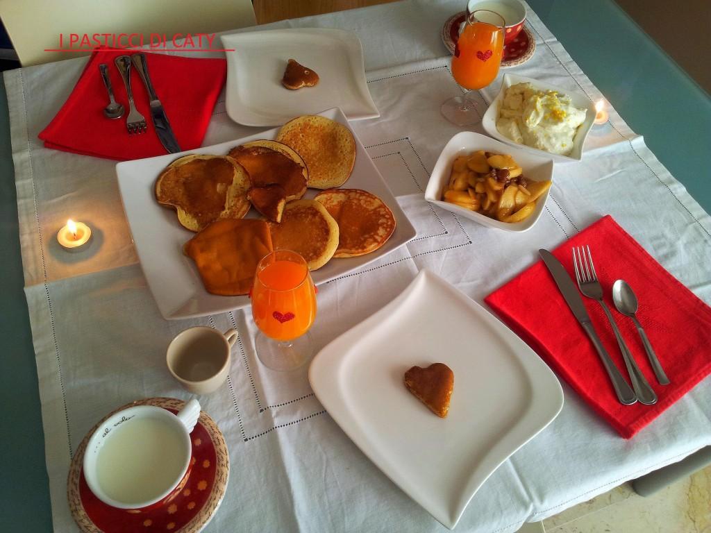 colazione si san valentino