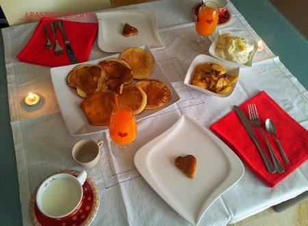 Colazione romantica per san valentino