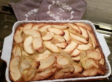 Torta di mele cremosa con ricotta