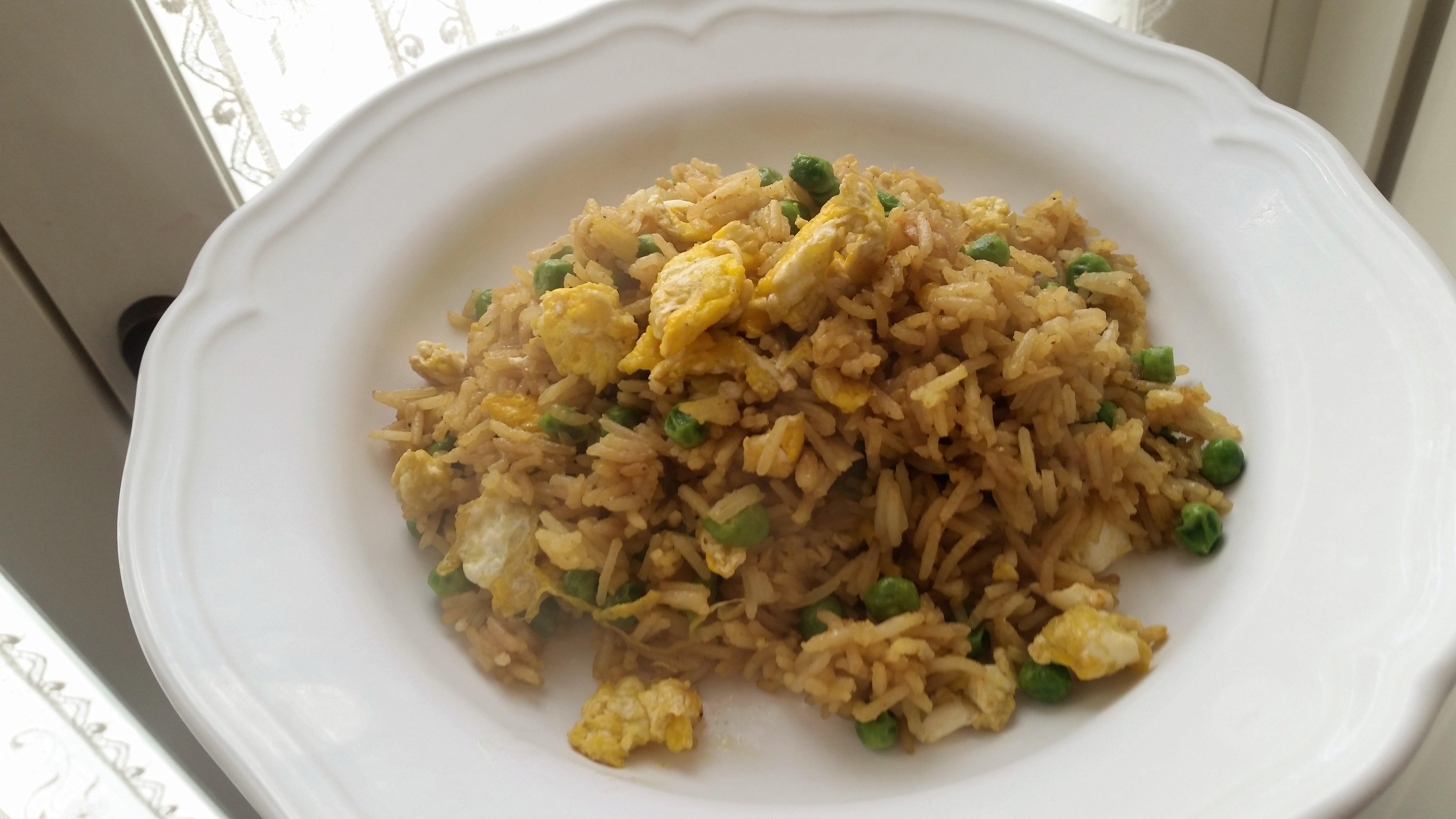 Riso al curry ricetta cinese for Ricette cinesi riso