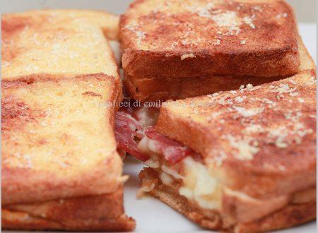 Torta di pan bauletto al forno
