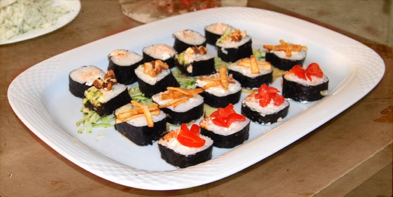 Homemade sushi diversi tipi di rotolini per dell 39 ottimo for Diversi tipi di case da costruire
