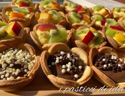 Cestini di frutta fresca
